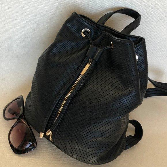 Deux Lux Handbags - Deux Lux Black Backpack - Knapsack